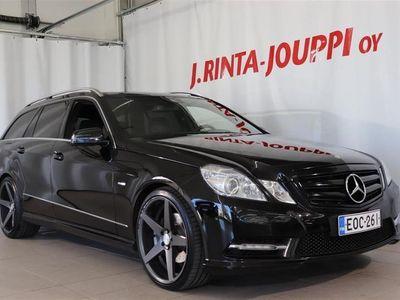 "käytetty Mercedes E250 CDI BE T 4Matic A Avantgarde AMG *Navi / Panorama / 20"" alut*"