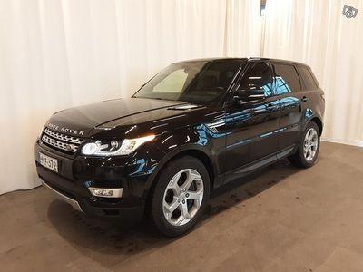 käytetty Land Rover Range Rover Sport 3,0 SDV6 HSE ** Adaptiivinen vakionopeudensäädin, Navi, Nahat, Peruutuskamera ** **** Korko 0,5% + m
