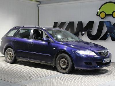 käytetty Mazda 6 6 5DSTW 2.0 **ALUVANTEET KESÄRENKAISSA/ AUTOMAATTI!**