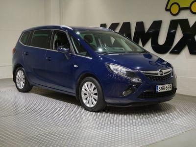 käytetty Opel Zafira Tourer Drive 1,6 XNT Turbo Maakaasu 110kW / Edullista ajoa kaasulla / 7 -paikkainen / vetokoukku / Navi