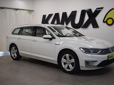 käytetty VW Passat Variant GTE Plug-In Hybrid 160 kW (218 hv) DSG-automaatti ## ALV // RATTIVAIHTEET // ADAPT. VAKKARI