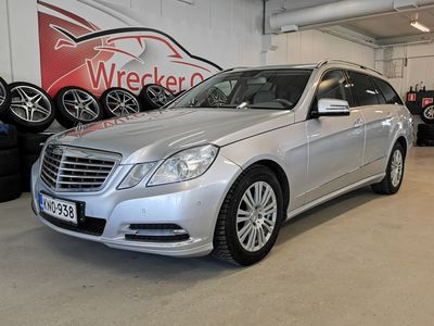 käytetty Mercedes E220 CDI 7G-Tronic Elegance, Navi, Sähköluukku, Peruutuskamera ym..Rahoitus ja kotiintoimituskin!