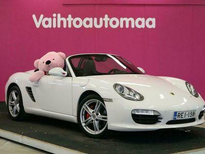 käytetty Porsche Boxster S #SUOMI-AUTO #UPEA #CRUISE #PSM #NAHKA-ALCANTARA