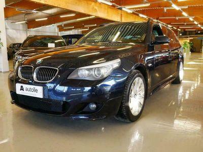 käytetty BMW 530 *HUIPPUVARUSTELU* i xDrive A E61 Touring M-Sport Tarkastettuna, Rahoituksella, Kotiin toimitettuna!