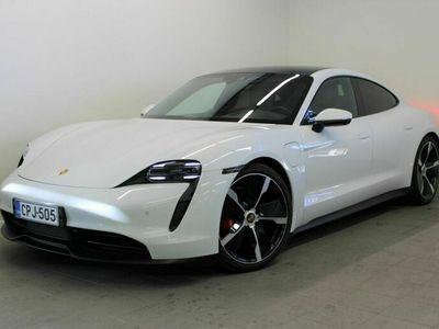käytetty Porsche Taycan 4S 420, Performance Battery +, Head-Up, 14-suuntaiset istuimet, Panoramakatto, Matkustajan näyttö