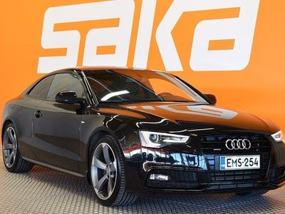 käytetty Audi A5 Coupé Land of quattro Edition 2,0 TFSI 165 kW quattro S tronic S-Line ** Suomi-auto / Huippuhieno S-