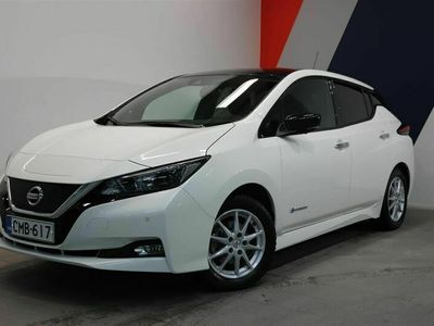 käytetty Nissan Leaf N-Connecta 40 kWh 2-tone FI CMB-617 | Laakkonen