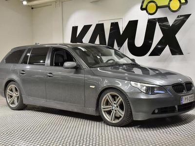käytetty BMW 535 dA Touring **UPEA TEHOMYLLY! WEBASTO KAUKKARILLA, PANORAMA JNE! ÄLÄ OHITA TÄTÄ!**