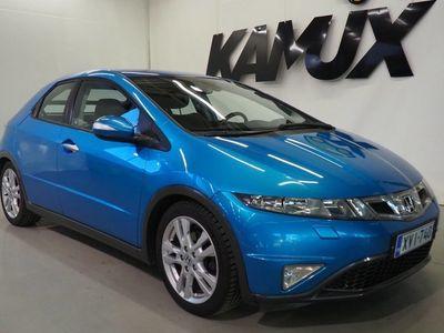 käytetty Honda Civic 5D 1,8i Sport / Suomi-Auto / Vakionopeudensäädin / Huoltokirja /