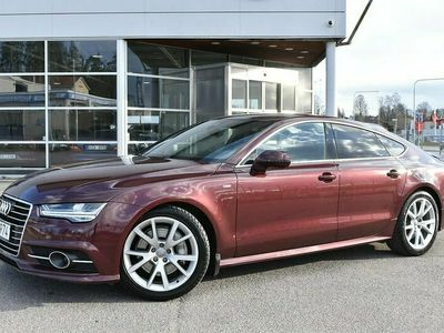 käytetty Audi A7 2,0 TFSI 185 kW quattro S tronic S Line, BOSE®, Ajoavustinpaketti, MMI Navi Plus, Matrix LED, Nahat!