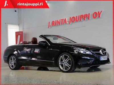 käytetty Mercedes E200 Cabriolet A *H&K -Hifi / Navi / LED ILS / Vähän ajettu! / Juuri katsastettu!* *** J. kotiinto