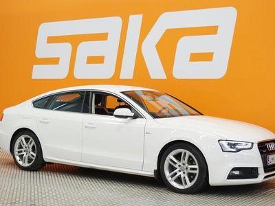 käytetty Audi A5 Sportback Business Sport 2,0 TDI clean diesel 140 kW quattro S tronic S-LINE ** SUPERHIENO / Adapt.