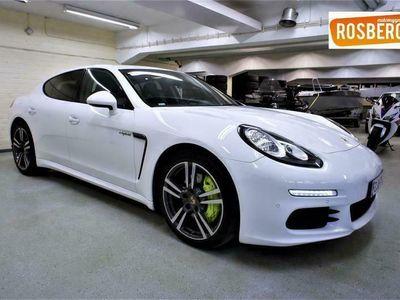 käytetty Porsche Panamera S E-Hybrid e- Plug-in 416hv ## Navi, Ilmajousitus, Bose, Kamera, Sähköluukku, Tutkat, Sähköpenkki muis