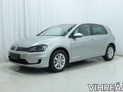 käytetty VW Golf e-Golf 115 hv automaatti *LEDIT, KAMERA, NAHKAT, ISO NAVI YMS.*