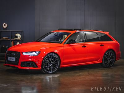 käytetty Audi RS6 Avant 4.0 V8 TFSI Facelift, Milltek, Panorama, B&O, Rahoituskorkotarjous alkaen 0,89% 31.01 asti!
