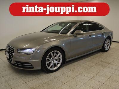 käytetty Audi A7 *FACELIFT* 3.0 V6 TDI BiTurbo Business Sport 235kW Q Aut. Tarkastettuna, Rahoituksella, Kotiin toimi