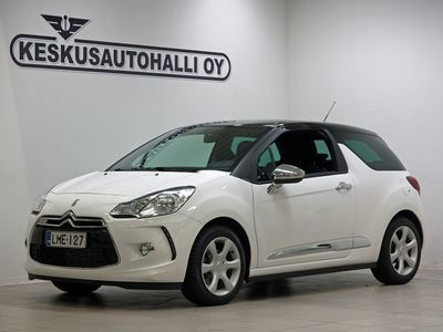 käytetty Citroën DS3 VTi 82 So Chic - Korko nyt 2.9% + kulut