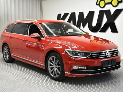 käytetty VW Passat Variant 2.0 TDi Executive R-line / ADAPT.VAKKARI / LED-AJOVALOT / CARPLAY / KOUKKU /