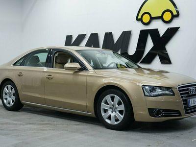 käytetty Audi A8 Sedan 3,0 V6 TDI quattro tiptronic-autom. Start-Stop Executive line ** Exclusive-väri / Suomi-auto /