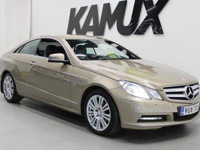 käytetty Mercedes E350 CDI BE Coupé A / NAVI / KAUKOVALAUTOMATIIKKA / LOHKO+SISÄLÄMMITIN / SUOMI-AUTO/