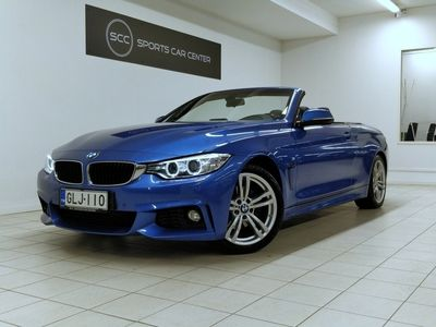 käytetty BMW 420 420 F33 Cabriolet d TwinPower Turbo A M-sport, Tutkat, Niskanlämmitin, Xenon, Sähk.säät. etuistuimet