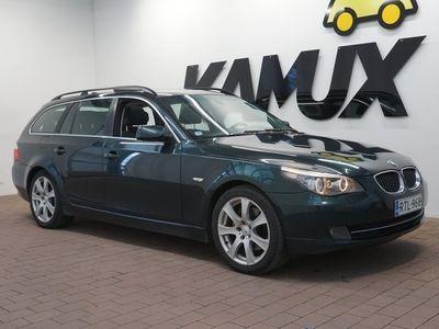 käytetty BMW 530 XDA E61 LCI Touring / Nahat / Vetokoukku / Panorama katto /