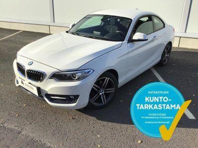 käytetty BMW 218 218 F22 Coupe d TwinPower Turbo Business Automatic Sport **** LänsiAuto Safe -sopimus hintaan 590EUR.