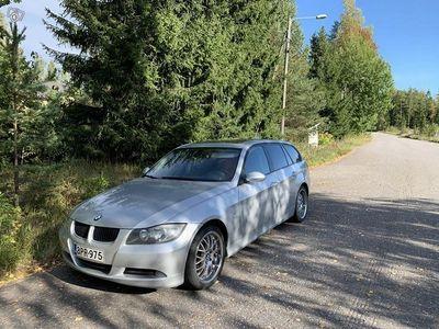 käytetty BMW 320 da nahat lasikatto ilmastointi.