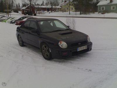 käytetty Subaru Impreza Turbo wrx 4d 4wd 4x4, käsiraha 760