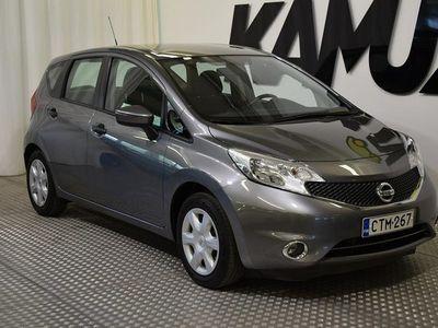 käytetty Nissan Note 80 Visia 5MT ** Ajotietokone - Ilmastointi - Vakionopeussäädin ja nopeudenrajoitin ** **** Korko 0 %