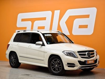 käytetty Mercedes GLK220 BlueTec 4Matic A Premium Business AMG-Styling ** Navi / Nahka-alcantara / Sähköluukku **