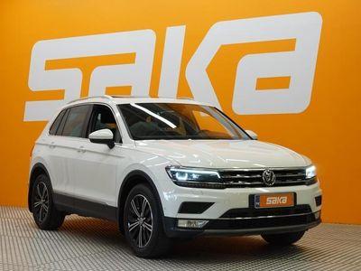 käytetty VW Tiguan Highline 2,0 TSI 132 kW (180 hv) 4MOTION **TULOSSA / Webasto / Panorama / ErgoActive / Vetokoukku /