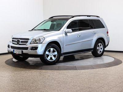 käytetty Mercedes GL320 CDI 4matic A - Todellinen veturi, jarrullinen vetomassa 3500 kg!
