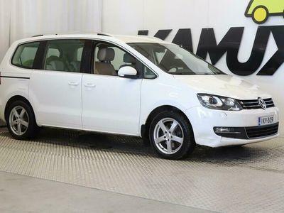 käytetty VW Sharan Highline 2,0 TDI 103 kW (140 hv) BlueMotion Technology DSG-automaatti - *WEBASTO, KOUKKU, NAVI, VAKK