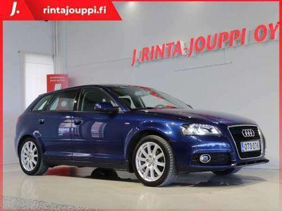 käytetty Audi A3 Sportback Ambition S- line 1,4 TFSI 92 kW *** J. kotiintoimitus