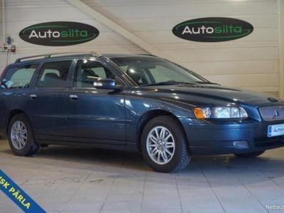 gebraucht Volvo V70 2.4i CLASSIC PUOLINAHAT + AC. Myös vaihto ja rahoitus. Nyt jopa ilman käsirahaa.