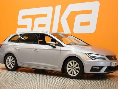 käytetty Seat Leon ST 1,0 TSI 115 Ecomotive Style Business DSG ** 1.om Suomi-auto / Webasto / Navi / LED / Tutkat **