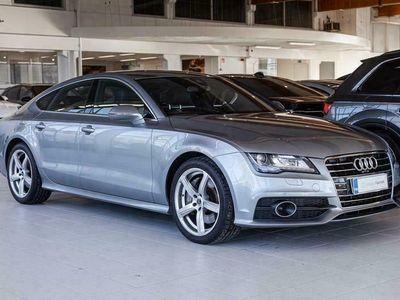 käytetty Audi A7 3,0 V6 TDI Biturbo 230 Q tiptronic S line, Adapt. vakkari, Navi, HUD