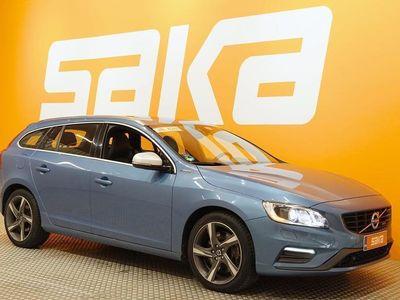 käytetty Volvo V60 D6 AWD R-Design plug in hybrid aut ### NORMAL FRIDAY -hinta! ### ** SUPERHIENO / NAVI / Webasto / Ha