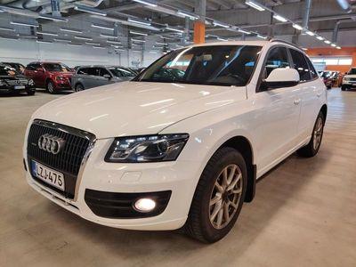 käytetty Audi Q5 2,0 TDI (DPF) quattro S tronic Business ** GSM-lämmitin / Panorama / Sporttipenkit / P-tutka **