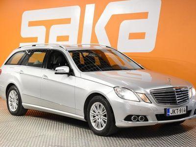 käytetty Mercedes E220 CDI BE T A Business ** Navi / Tutkat / BLIS / Lohkolämm. / Bluetooth **