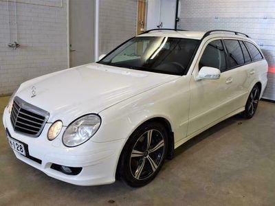 käytetty Mercedes E200 CDI // Juuri katsastettu / Koukku / Lohkolämmitin