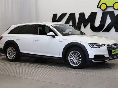 käytetty Audi A4 Allroad Quattro 2,0 TDI 140 kW quattro S tronic **tulossa myyntiin** // 1-OMISTAJA / NELIVETO / NAVI / ALV.VÄHENNYSK