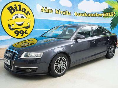 käytetty Audi A6 2,4 V6 130 KW *Huippuvarusteet* Vasta kastastettu* - *0 KORKO 0, HULUT NOLLAPÄIVÄTI!*