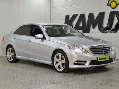 käytetty Mercedes E220 CDI BE AMG-Styling ** Webasto kauko-ohjauksella / Ortopedipenkit / Nahat / Koukku **
