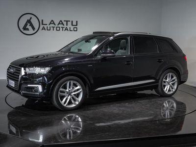 käytetty Audi Q7 3,0 V6 TDI E-tron quattro tiptronic *S-line *Panorama *Ilma-alusta *Bose *Adapt. vak. *Nahat *Muisti