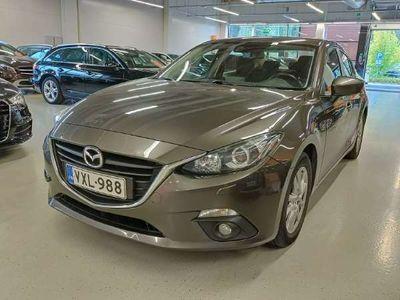 käytetty Mazda 3 Sedan 2,0 (120) SKYACTIV-G Premium 6MT ** Suomi-auto / Vakkari / Ilmastointi / Bluetooth / Lohkolämmitin **