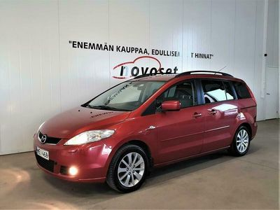 käytetty Mazda 5 1.8i 115HV Elegance 7h Man. *7HLÖ SUOMIAUTO VÄHÄN AJETTUNA! RAHOITUS 1.99% KOTIINTOIMITUS 0€*
