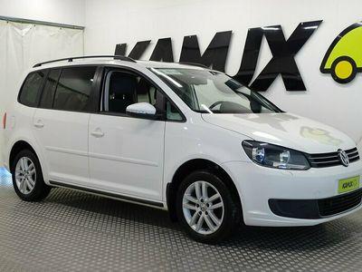 käytetty VW Touran Comfortline 1,4 TSI EcoFuel 110 kW (150 hv) / Uudet kuvat pesun jälkeen / Irroitettava vetokoukku / Lohko + sisäpistoke / 2 x renkaat /