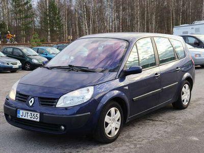 käytetty Renault Scénic 2,0 16V - Tee se itse miehelle / naiselle. 7-paikkainen, maltillisesti ajettu.